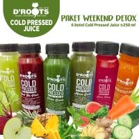 Paket Weekend Detox/Cold Pressed Juice/jus diet