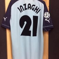 Original Jersey Lazio 2002-03 Inzaghi Used