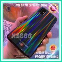 SAMSUNG GALAXY M21 M215 UME AURORA ORIGINAL TEMPERED GLASS HARD CASE