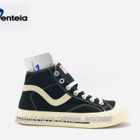 Sepatu Ventela Public Hi Black Natural Original