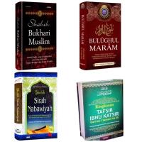 Sirah Nabawiyah - Tafsir Ibnu Katsir - Bukhari Muslim - Bulughul Maram