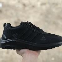 Sepatu Adidas Sneakers Full Black Termurah