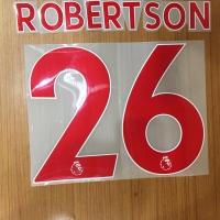 Original Nameset Liverpool away Robertson