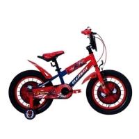 Sepeda Anak Cowok BMX Element Spiderman 16 Ban Jumbo 3.0