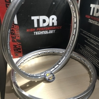 Velg TDR W Shape 140X140 Ring 17 Silver Original
