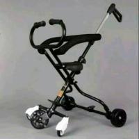 Magic Stroller Exotic 5 Roda Ada Pegangan Roda Nyala