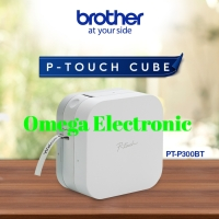 RESMI Brother Label Printer PT-P300BT P Touch Cube Label Maker