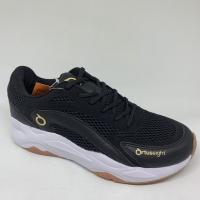 Sepatu running Ortuseight original ABYSSUS black gold new 2020