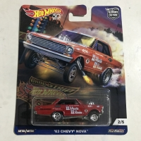 Hot Wheels Dragstrip Demons 63 Chevy Nova