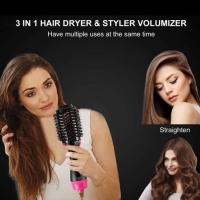 Catok sisir blow hair dyrer pengering rambut 3in1 brush one step curly