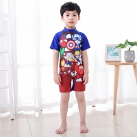 Baju renang anak laki laki swimsuit one piece diving avengers import