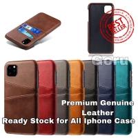 Casing Kulit Iphone Case X Xr Xs Max 11 11 pro Max 6 6s 7 8 plus Kartu