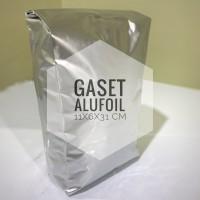 Gaset Alufoil 11x6x31 cm Alufoil Silver