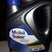 Oli mesin mobil 1 super 2000 sae 5W-30 kemasan galon isi 4liter
