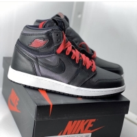 AIR JORDAN 1 HIGH OG SATIN BLACK (GS) ORIGINAL 100%