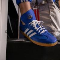 "SALE Adidas Samba Oyster ""Blue"""