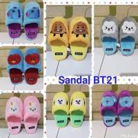 Sandal BTS BT21 lucu imut