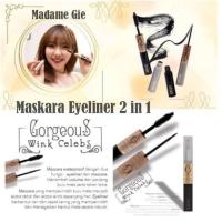 MADAME GIE Gorgeus Wink Celebs 2 in 1 (Mascara + Eyeliner)