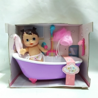 Mainan Mandi Anak Bath tub Baby Doll playset shower bak mandi boneka
