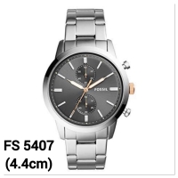 Jam tangan pria fossil fs5407 townsman chronograph stainless steel