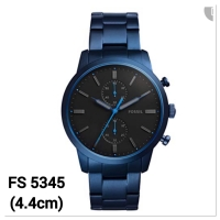 Jam tangan pria fossil fs5345 townsman chronograph stainless steel