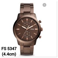 Jam tangan pria fossil fs5347 townsman chronograph stainless steel