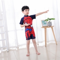 Baju renang anak laki laki swimsuit one piece diving spiderman