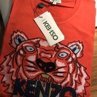 Authentic Kenzo Logo Bordir Tee Tshirt T-shirt Baju Kaos Original