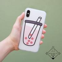 Bobba boba Case Iphone 6 6S 6+ 6S+ 7 8 Plus X XR XS MAX cute casing