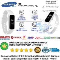Samsung Galaxy Gear Fit E 2019 R375 Garansi resmi Sein Putih-white