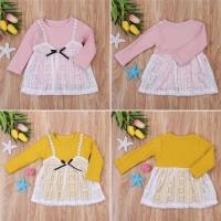 Meisya dress / dress bayi import murah / baju anak import