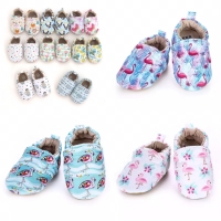 Prewalker shoes import murah motif flamingo / sepatu bayi newborn