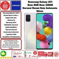 Samsung Galaxy A71 8GB/128GB 8/128 GB Garansi Resmi SEIN-Putih-Silver