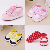 Sneakers bayi import / sepatu prewalker bayi sporty tali / sneakers ba