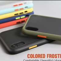Xiaomi Redmi Note 7 Matte Frosted Silikon Doff Hardcase Warna