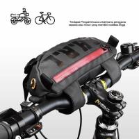 Waist Bag Tas Selempang Choral Nico Sepeda Motor Pouch Water Resistant