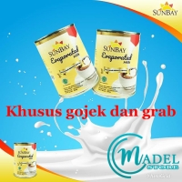 Susu evaporasi SUNBAY - evaporated milk