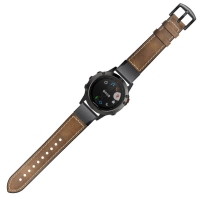 STRAP TALI JAM LEATHER RUBBER BAND QUICK EASY FIT GARMIN FENIX 5X 6X