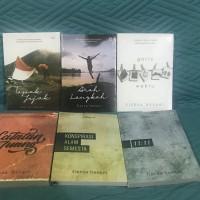Paket 6 Buku Novel Fiersa Besari Arah Langkah Garis Waktu Tapak Alam