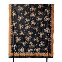 Kain batik Tulis Lasem Ceplok Latohan MB245, Kain Panjang