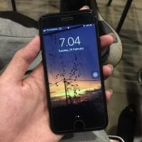 Iphone 7 128 Gb Matteblack Second Pemakaian Pribadi
