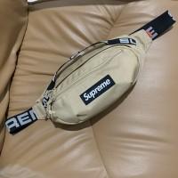 Supreme SS18 Waist Bag Tan Authentic Original Legit