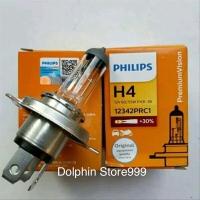 Bohlam Lampu Depan Halogen Philips H4 Toyota Avanza/Xenia/Rush/Lexio
