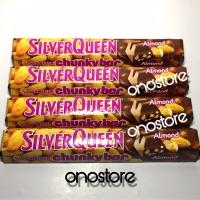 Silverqueen Chunky Bar Almond 100 gram/100 gr/100