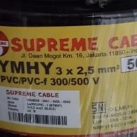 KABEL SERABUT SUPREME NYYHY 3X2.5 3 X 2.5 50 METER