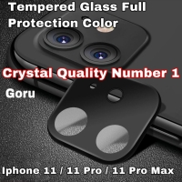 Tempered Glass pelindung Camera Full cover Iphone 11 11 Pro Max warna