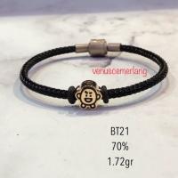 Gelang tali pandora + charm BT21