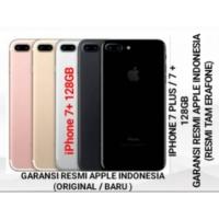 Iphone 7 plus 128gb resmi ibox