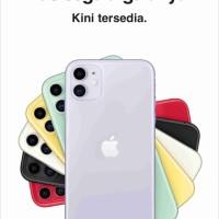 iPhone 11 64GB Red Garansi Resmi TAM