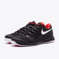 SALE!? Sepatu Tennis Nike Air Vapor Zoom X HC Triple Black